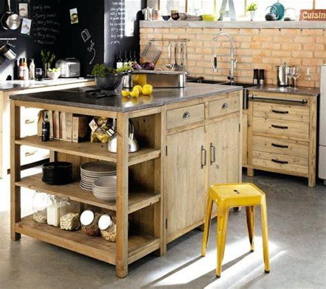 fabriquer ilot cuisine fabriquer un îlot de cuisine 35 idées de design créatives