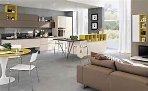 Moderne Wohnungseinrichtung Ideen : moderne k chen raumideen ~ Markanthonyermac.com Haus und Dekorationen