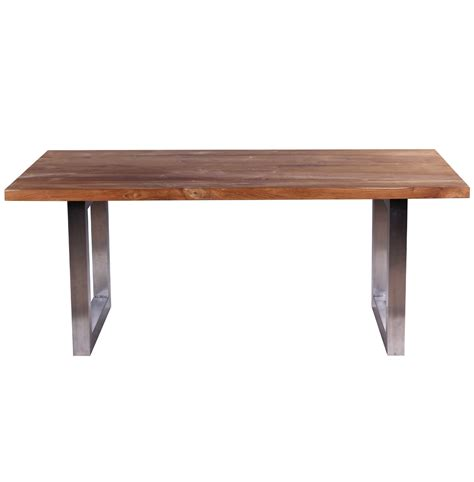 wood steel dining table reclaimed wood and metal dining table delmaegypt
