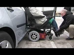 Vibration Voiture En Roulant : handi mobil adaptation de si ge v hicule pour handicap s qui devient fauteuil roulant youtube ~ Gottalentnigeria.com Avis de Voitures