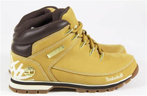 Mens Timberland Casual Leather Lace Winter Chelsea Ankle