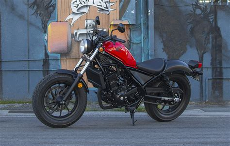 2017 Honda Rebel 300 Cruiser Motorcycle Review  Bikes Catalog