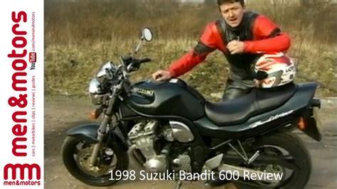 1998 Suzuki Bandit by 1998 Suzuki Bandit 600 Review