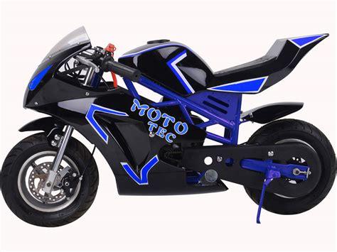 Mototec Gas Pocket Bike Gt 49cc 2stroke Blue