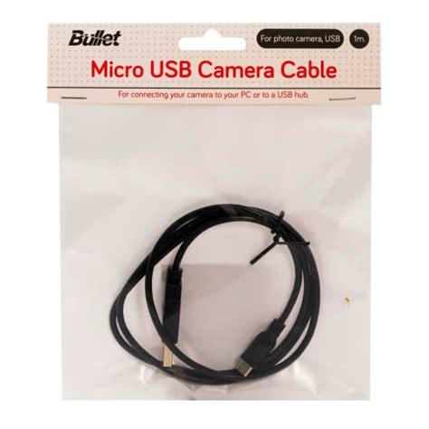 Fotoaparāta kabelis Bullet micro 1m
