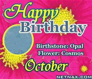 Quotes About October Birthdays. QuotesGram