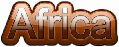 Africa African Clipart Text Word Clip Safari