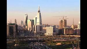 sunset timelapse of downtown riyadh saudi arabia by