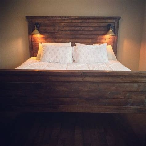 Diy Headboard With Lights Bedroom Pinterest Diy