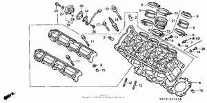 Cylinder Head For 2000 Honda Cbr1100xx Cbr1100xx  Super