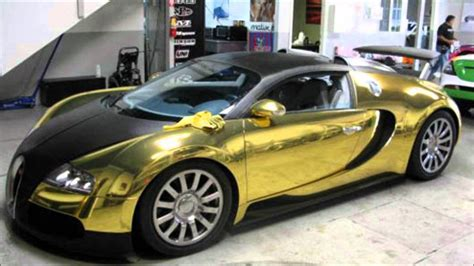 Gold Bugatti Veyron Found In North Sea Must See!!