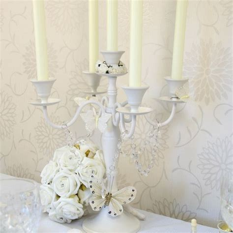 Shabby Chic Wedding Decorations Hire by Candelabra Hire Table Centerpieces Table