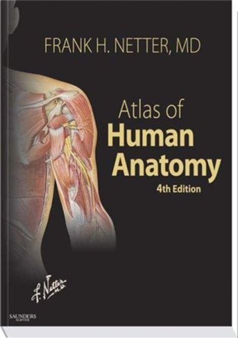 atlas  human anatomy  frank  netter