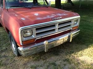 1985 Dodge D100 And Parts Truck Rust Free Original Paint