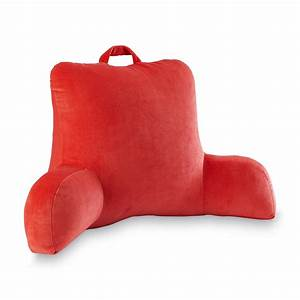 essential home bedrest pillow home home decor With college bed rest pillow