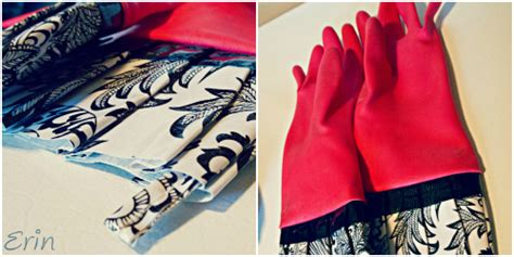 Rubber Gloves Collage