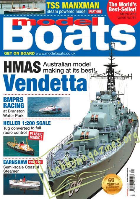 model boats march  hobby magazines