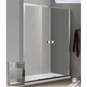 paroi de douche d39angle bellagio avec porte double With porte de douche d angle coulissante