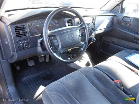 dodge dakota slt club cab  interior color
