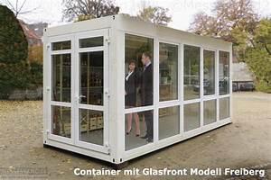 Container Mit Glasfront : eventcontainer 1 messecontainer f r events ausstellungen showrooms und messen in ~ Indierocktalk.com Haus und Dekorationen