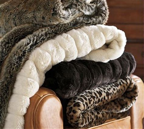pottery barn fur blanket a few of my favorite things the picky apple