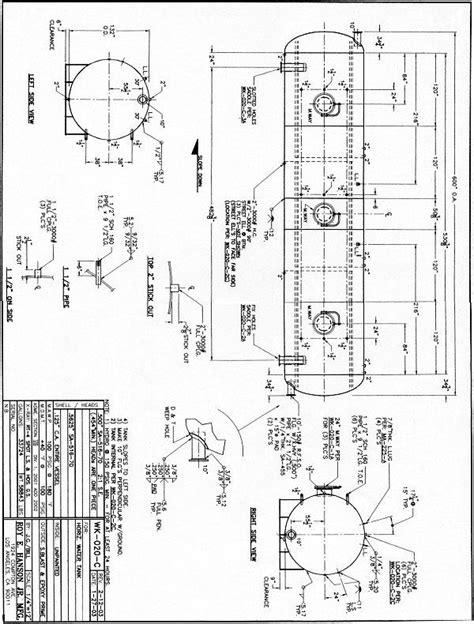 WK020C – Hanson Tank Air Receivers, Hot Water Storage