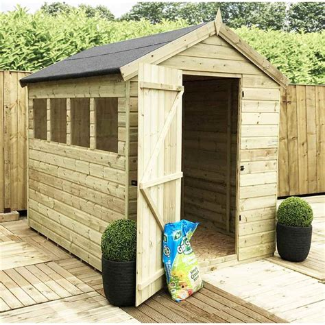 10ft X 6ft Shed by Shedswarehouse Aston 10ft X 6ft Premier Pressure