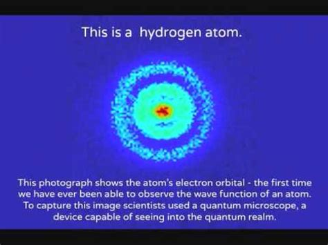 First Picture of the Hydrogen Atom - YouTube