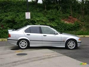 Arctic Silver Metallic 1997 BMW 3 Series 328i Sedan