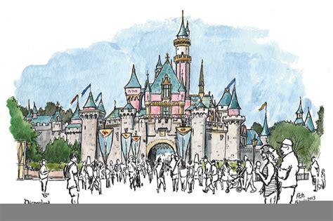 Disneyland Castle Clipart Free
