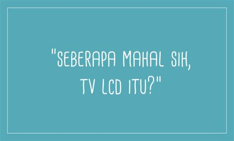 Harga Merk Tv Lcd Termurah harga tv lcd termurah bisa tebak