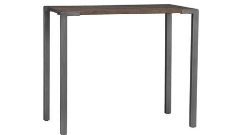 42 inch high desk stilt 42 quot high dining table cb2