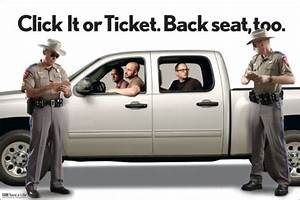 Click It or Ticket Texas – What's New