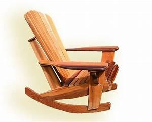 Ja: Adirondack rocking chair plan