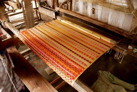 history  weaving part  asia wild tussah