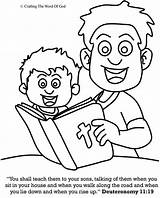 Coloring Bible Crafts Teach Sons Them Sunday God Craftingthewordofgod Craft Printable Toddler Lessons sketch template