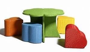 Gartenstuhl Für Kinder : rattan gartenm bel ideen gestalten sie ihren balkon und garten ~ Indierocktalk.com Haus und Dekorationen