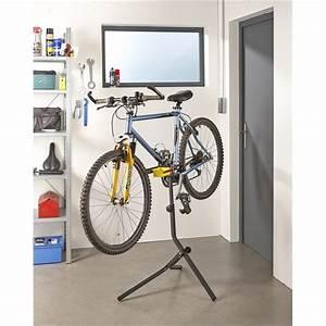 Support De Velo : support atelier sur pied pour v lo mottez b058p ~ Melissatoandfro.com Idées de Décoration