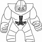 Thanos Lego Coloring Smiling Pages Printable Marvel Game Cartoon Categories Coloringpages101 sketch template