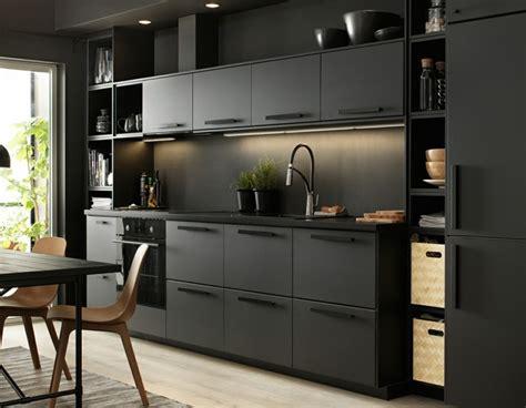 meuble cuisine noir ikea meuble cuisine ikea et idées de cuisines ikea grandes