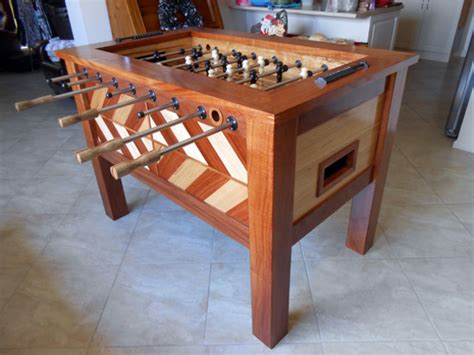 foosball table australian wood review
