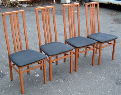 set of 4 italian dining chair for sale antiques