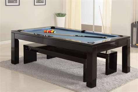 phoenix solid wood ft slate bed pool dining table
