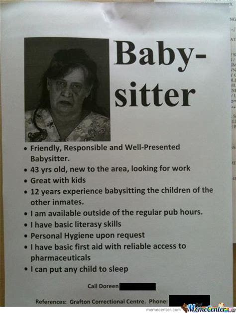 Babysitter Meme - babysitter seems legit by mustapan meme center