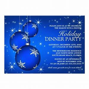 Holiday dinner party invitation template zazzle for Christmas dinner invite templates