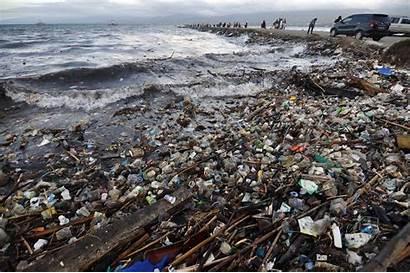 Indonesia Plastic Debris Marine Battle Against Beaches