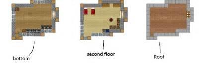 minecraft house set up blueprints by xsentinelxgaming99x