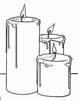 Christmas Candle Drawing Coloring Pages Candles Drawings Easy Kolorowanki Znicze Google Draw Pencil Step Wax Sketch Adult Halloween Szukaj Discover sketch template