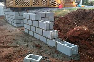 Mur En Béton : la construction d 39 un mur en blocs de b ton ~ Melissatoandfro.com Idées de Décoration