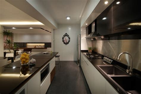Modern Apartment In Singapore With A Clean Design